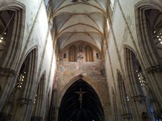 The last judgement in the Münster of Ulm