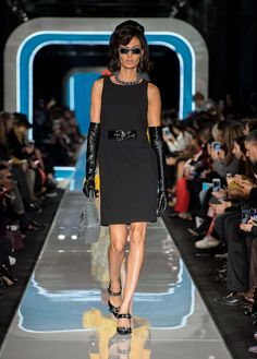 Moschino Fall/Winter 2018 Fashion Show - See more on www.moschino.com
