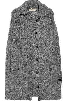 Burberry London  Knitted cardi-cape