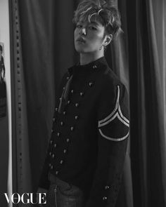 Junhoe (iKON) - Vogue Magazine March Issue '17
