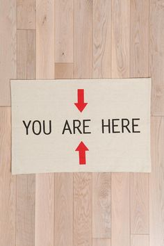 Urban Outfitters - You Are Here Rug