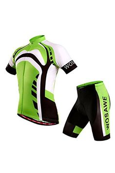 Boys  Cycling Jerseys - Breathable Cycling Jersey Short Sleeve Jacket  Padded Shorts Set Outfit Sportswear Suit Breathable Quick Dry -- See this  great ... 820113f7d