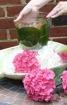 DIY Projects | How to make this easy Hydrangea Centerpiece in 4 simple steps | Bright Bold and Beautiful
