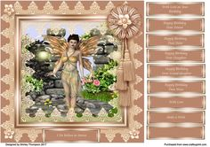 Evening Fairy 3 Cu4cu Png Graphics by Shirley Thompson