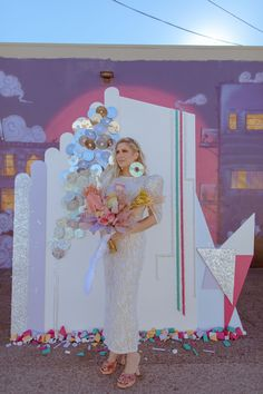 For the love of all things funky! If you want to renew your wedding vows, this inspiration just might give you the rad ideas you were searching for. Wedding Goals, Wedding Planning, Wedding Day, Bridal Portrait Poses, Most Beautiful Images, Bridal Pictures, Elopement Inspiration, Bridal Looks, Vows