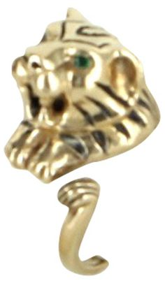 Bengal Tiger Ring Gold - Vintage Luxe Gifts - Vintage - Holiday One Kings Lane Traditional Living Room Furniture, Bengal Tiger, Vintage Holiday, Kings Lane, Gold Ring, Gifts, Presents, Gold Band Ring, Favors