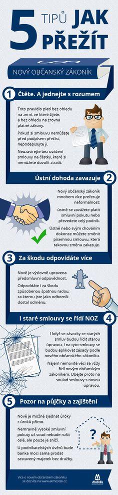 5 tipů, jak přežít nový občanský zákoník :)