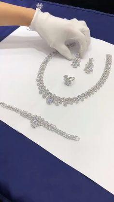 Fansi 2 PCS//Parure Diamant Point Rond R/étro Design Alliage Collier Boucles doreilles Ensemble Femmes /Él/égant Bijoux