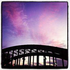 夕暮れの勝どき橋