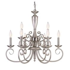 Found it at Wayfair - Liberty 9-Light Candle-Style Chandelier