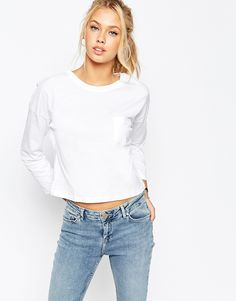 ASOS The Pocket T-Shirt With Long Sleeves