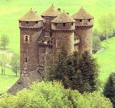 Château d'Anjony, Auvergne, France