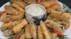Obalované cuketové tyčinky s česnekem a sýrem připravené v troubě za 20 minut! | Vychytávkov