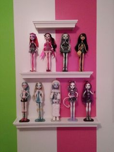 Ever After High, Custom Dolls, Doll Toys, Plushies, Shelves, Bjd, Storage Ideas, Room, Collection