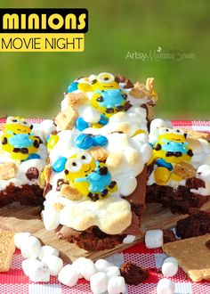 Minions Movie Snack Idea
