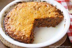 Low Carb Meat Pie