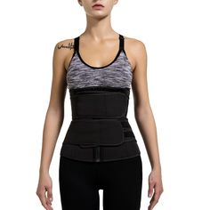 Neoprene Sauna Waist Trainer   Corset Sweat Belt for Women   Weight Lo – Naughty Smile Fashion Sweat Belt, Waist Trainer Corset, Corset Belt, Posture Correction, Waist Training, Waist Cincher, Weight Loss For Women, Belts For Women, No Equipment Workout