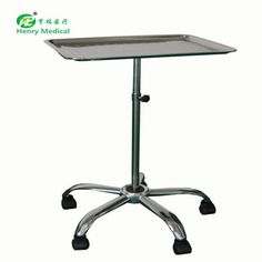 Hot selling stainless steel hospital crash cart medical trolley