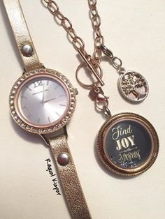 Rose gold is really so beautiful! Do you wear rose gold? #Watch #RoseGoldJewelry #FindJoyInTheJourney #OrigamiOwl #Fashion