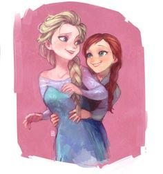 Anna & Elsa by A-KA (ID: 280298)