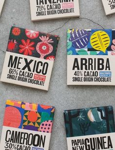 Packaging Design  Macondo Chocolate Co by  A-Side Studio