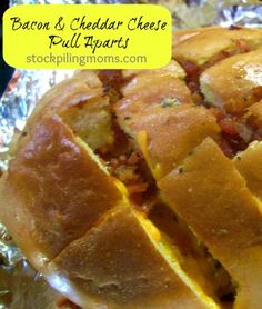 Bacon & Cheddar Cheese Pull Aparts