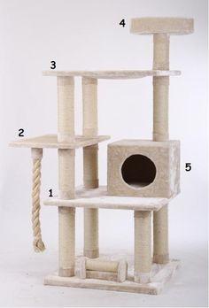 Faire soi même son arbre à chat - Forum Pratique - Maine Coon - Wamiz