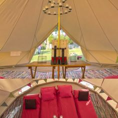 Glamping holidays in bell tents on the North Norfolk coast. Clay Pigeon Shooting, Glamping Holidays, No Boys Allowed, Norfolk Coast, Bell Tent, Surfing, Spa, Wedding Inspiration, Fancy