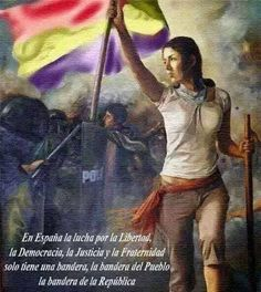 Libertad , Democracia, Justicia y Fraternidad   La bandera del pueblo es la bandera de la República