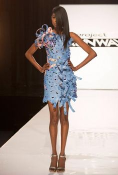A dress made of movie tickets! 'Project Runway' Season 13: Ranking the Looks of 'Unconventional Movie Nite'