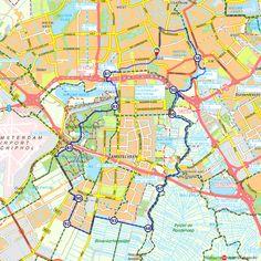 Rondje Amsterdam op de fiets 1 (http://www.route.nl/fietsroutes/181773/Rondje-Amsterdam-op-de-fiets-1/)