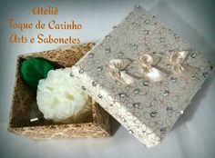 Sabonete Provence em uma caixa delicada para presentear.