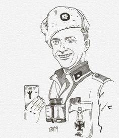 selfie Hans
