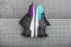 "***RELEASE REMINDER*** The Asics ""50/50 Pack"" is coming! The turquoise Gel-Lyte V (EU 40,5 - 45,5 
