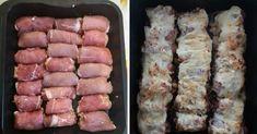 Gondoltam felrakom még időben , ha valaki el szeretné készíteni az meg tudja tenni!! A göngyölt hús receptje; 1,5 kg csontnélküli karaj , ezt felszeleteljük egyforma nagyságúra majd folpack fóliával letakarva jól kiklopfoljuk , végül mind a két oldalát besózzuk , ha megvan félre tesszük . A töltelékhez 1kg darálthús, 3-4 db áztatott zsemle, 2db...