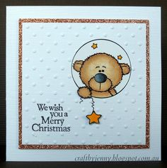 Craft by Jenny: Beary Merry Christmas