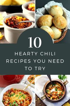 These quick and easy chili recipes are healthy and kid friendly too. They're perfect for lazy winter evenings or tailgating! Hearty Chili Recipe, Chili Recipes, Tailgating, Thanksgiving Recipes, Lazy, Pumpkin, Kid, Healthy, Winter