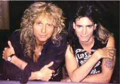 David Coverdale and Steve Vai