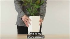 Bioo Lite Recharging Station Uses Ordinary Houseplant for Power
