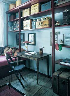 Taidetta, vintagea ja rustiikkia pintaa