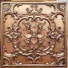 Shop Faux tin Ceiling Tiles Antique Copper Embossing photosgraphie Background Decoration Wall Panels Free delivery on eligible orders of or more. Vitromosaico Ideas, Copper Ceiling Tiles, Covering Popcorn Ceiling, Tile Steps, Art Chinois, 3d Cnc, Tin Tiles, Background Decoration, Art Japonais