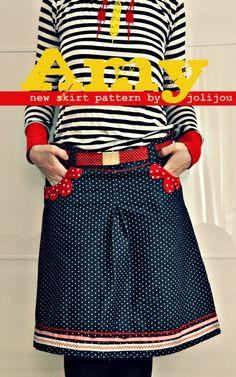 great skirt pattern by @Andrea / FICTILIS Mueller Jolijou