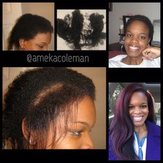 Us natural girls must keep persevering!! Healthy beautiful NATURAL hair is at the other end of the big chop!! LOVE THIS!!!