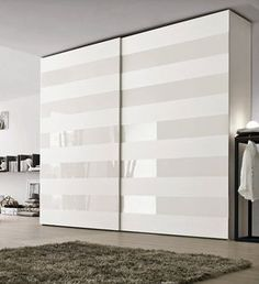 Ideas Bedroom Wardrobe White Furniture For 2019 Sliding Wardrobe Designs, Wardrobe Design Bedroom, Wardrobe Furniture, Wardrobe Doors, Closet Designs, Closet Bedroom, White Furniture, Furniture Design, Closet Doors