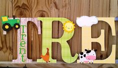 Personalized Custom decorative wood wall by TheCrafteighCrow, $11.00