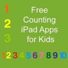 21 Free Counting iPad Apps for Kids   Are you looking for a fun, interactive, and educational way your kids to learn counting? At the following list you will find 21 Free Counting / Number Lines iPad Apps for Kids.   http://elearningindustry.com/subjects/free-elearning-resources/item/449-21-free-counting-mathematics-number-ipad-apps-for-kids