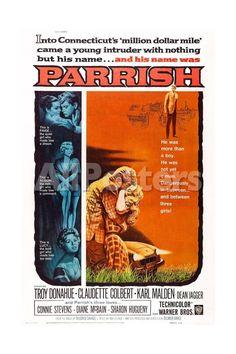 Parrish Movies Art Print - 41 x 61 cm