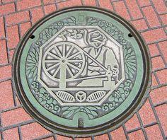 art design | street design | manhole cover | japan | col.33