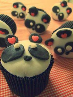 #panda #cupcake