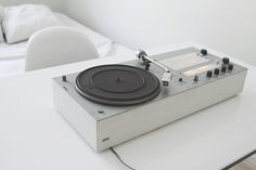 Braun Record Player | Designed by Dieter Rams